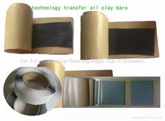 Damping Clay Bar Damping Block Technology Transfer