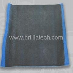 纳米超细纤维毛巾火山魔泥车漆清洁毛巾礼品汽车擦车方巾