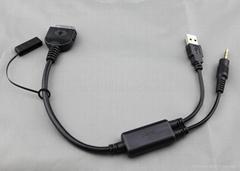 寶馬aux線 mini 改裝專用 IPHONE IPOD aux數據線 車載蘋果音頻線