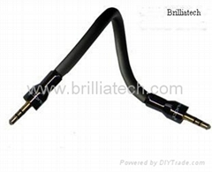 Brilliatech BT-3026 New Cable for AUX-in Car System