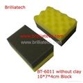 Hand Wax Sponge Pad/Buffer pad/Polishing