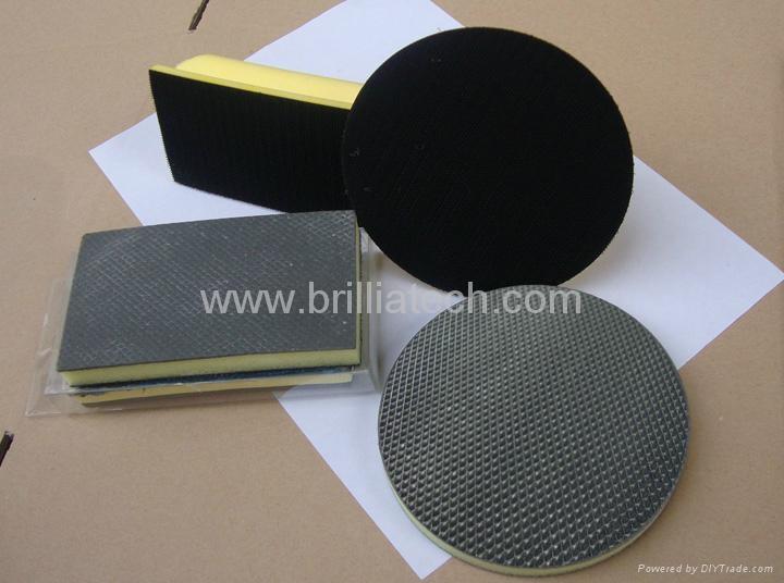 car polish machine pad