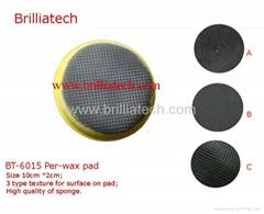 clay bar polish disc magic clay pad auto detailing wheel car sponge foam clean