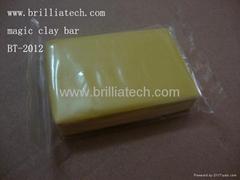 2pcs with pp box car wash clay bar auto detailing mud  car surface clean wax mud