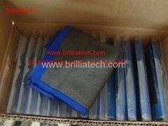 car wash glove clay bar fine plush clay mitt microfiber glove car wash thick