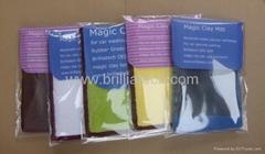 30x30/40/60CM car wash clay bar microfiber towel car cleaning drying cloth