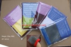 car wash magic clay bar mitt auto clean sponge glove microfiber plush glove