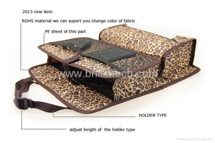 Car Trunk Organizer Car Organizer Seat Back Pocket Card Holder