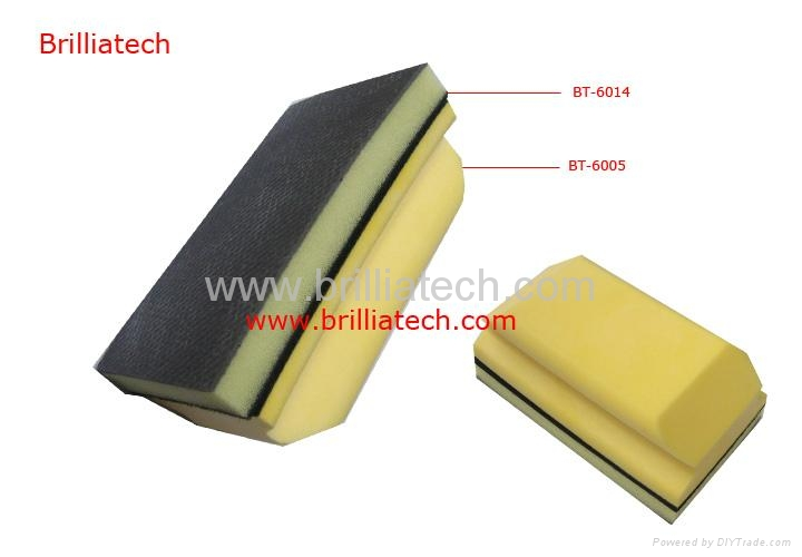 Brillaitech Nanoskin AutoScrub Medium Fine Foam Pad 1