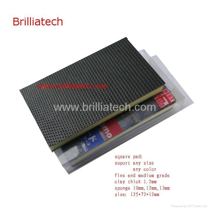 Brillaitech Nanoskin AutoScrub Medium Fine Foam Pad 3