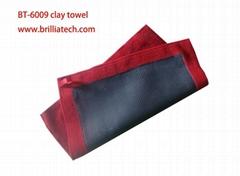 双面高密度超细纤维洗车毛巾专业洗车短绒布抛光清洁去污