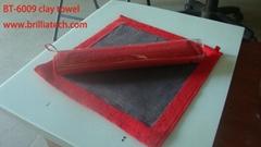 方形洗车泥细纤维毛洗车毛巾单面火山泥超细纤维吸水布不掉毛