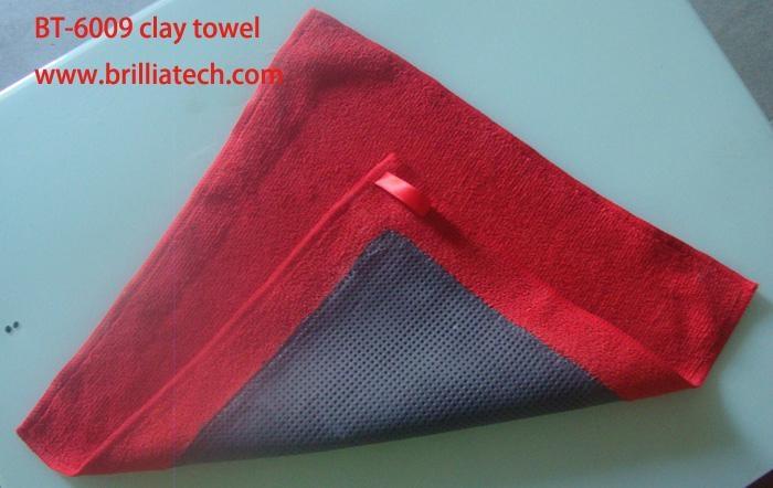clay bar cloth