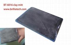 Ultrafine Fiber car washing clay bar mitt clay mud glove absorbent dust removeal