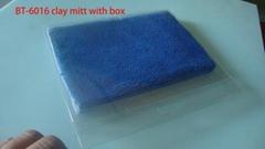 car washing clay mud mitt clay wasj mitt microfiber glove car window cleaner