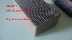 Fine mesh car wash clay sponge car wash clay bar block foam applicator car care