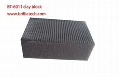 Nanoskin Clay Block Fine Grade Magic Clay Bar on Block