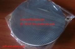 Clay bar block pad auto cleaning sponge pad 6inch disc for DA/RO/GA car polisher