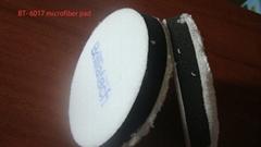 3/4/5/6/7寸車用羊毛球超細纖維盤拋光去蠟盤手動電動打磨自粘盤
