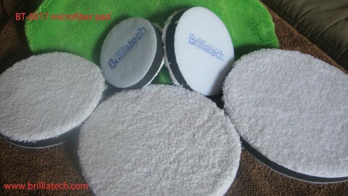 80/100/125/150/180mm Artificial wool polisher pad car waxing buffing disc set