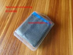 清洁去污超细纤维吸水魔泥布车用清洁擦车毛巾双面双色高密度毛巾