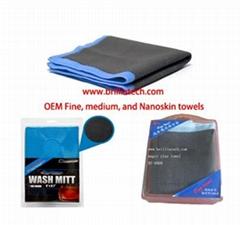 Speedy Surface Prep Detail Towel AutoScrub Pad NANOSKIN mitt