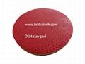 red fine magic clay pad