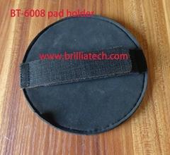 car wax flat pad  hand tool auto detailing manual polishing with holder