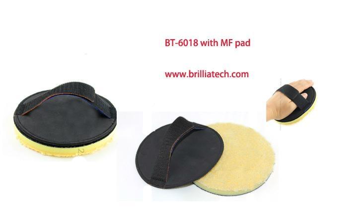 polish hand pad