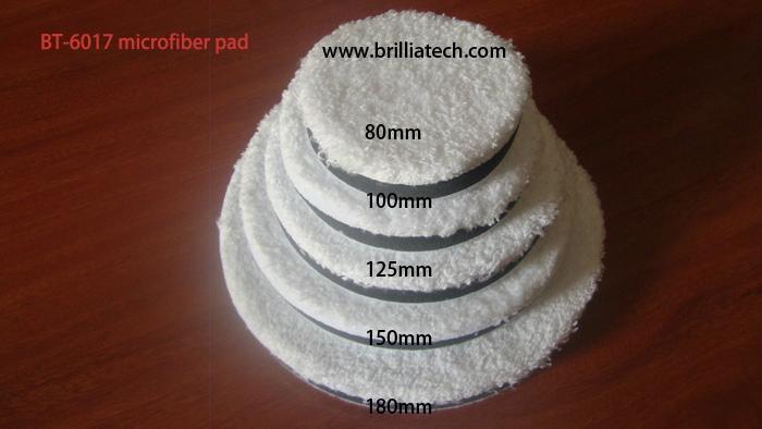 microfibe polishing pad