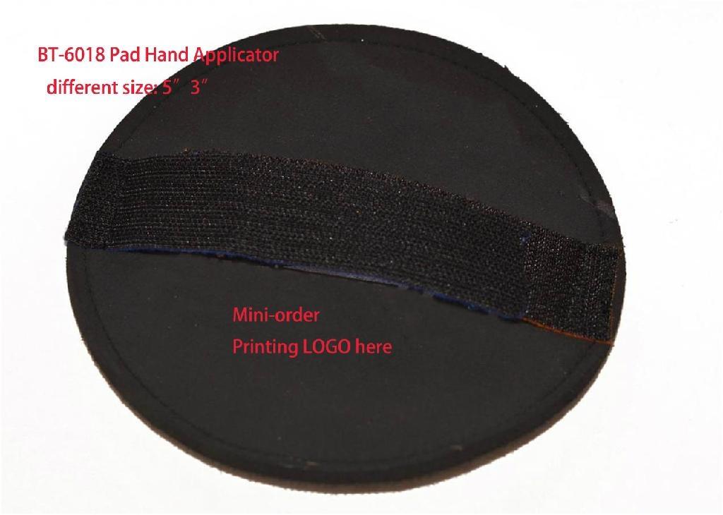 polishing pad handle