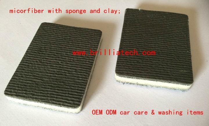 car wash sponge block