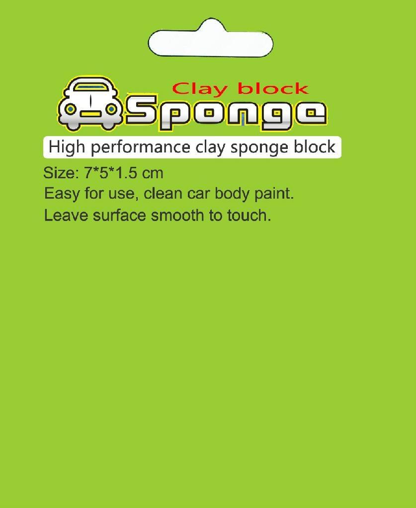 car  wax sponge