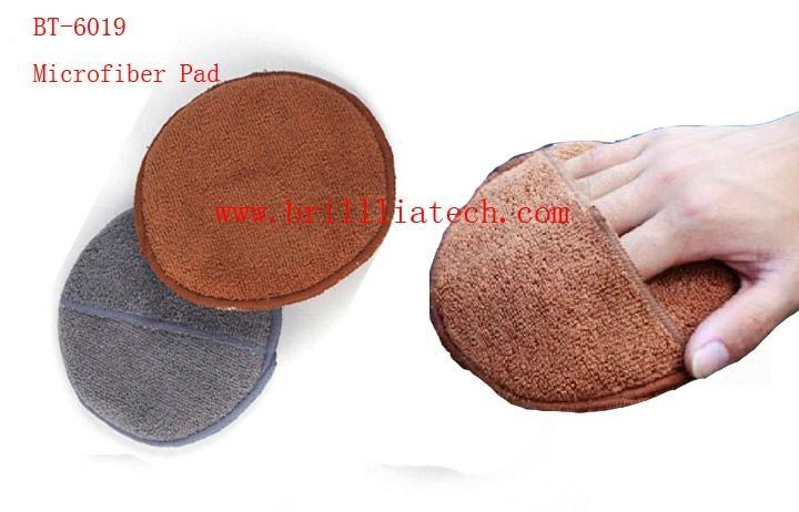 high quality wax sponge pad sponge wax pad magic clay  bar pad
