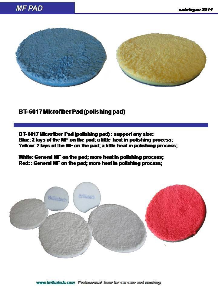 hand wax pad