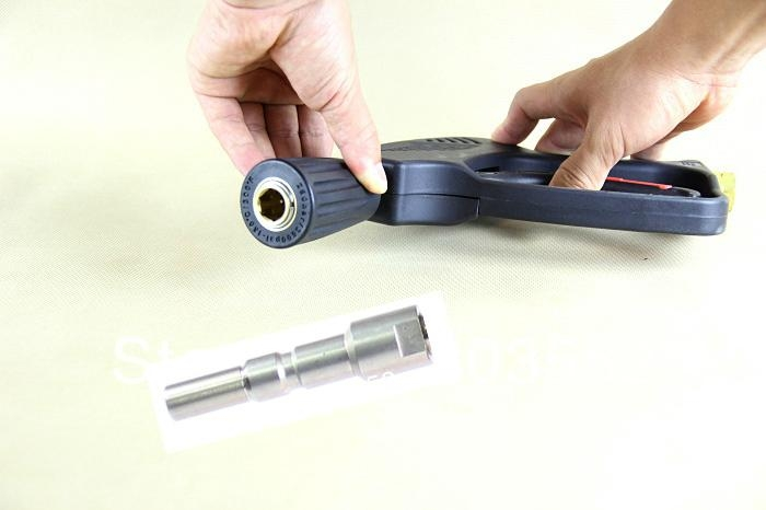pressure set gun