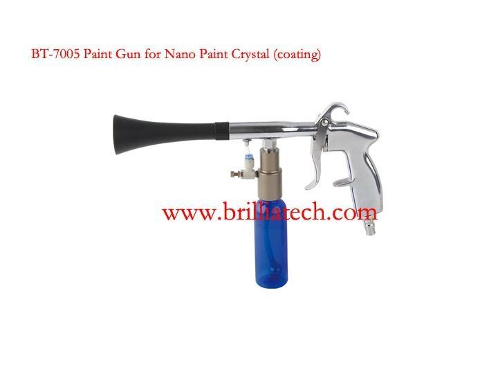 Crystal coating gun
