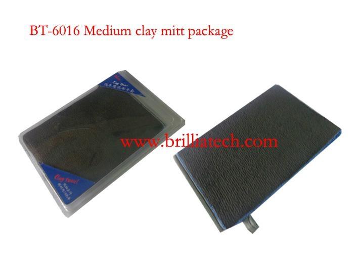 custom magic clay mitt
