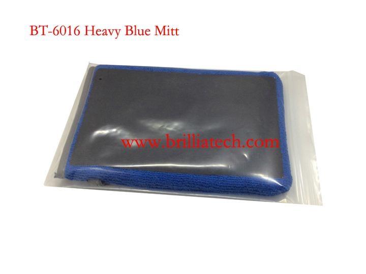 蓝色魔泥布手套