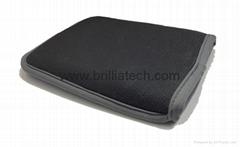 Square car wash glove microfiber thick cleaning mitt car wax tool