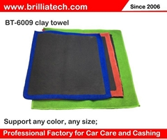 超细纤维洗车毛巾火山洗车泥高密度吸水擦车巾多功能清洁毛巾定制