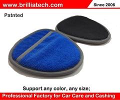Auto cleaning microfiber glove magic bar cleaning cloth car care polishing towel