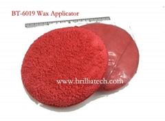 car wax Pad manual car polishing applicator buffing waxing sponge microfibertool