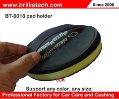 Clay sponge detailing pad car washing disc polishing machine wax pads flat whee