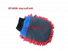 car styling clay bar mitt microfiber coral ve  et glove car Motorcycle Washer