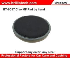 汽車清潔魔泥盤百潔泥6寸魔泥磁土盤氣動機漆面納米去污盤