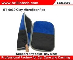 car care microfiber clay bar drying towel auto detailing polishing cloth
