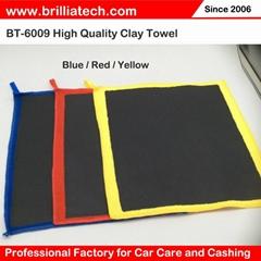 洗车毛巾超细纤维吸水魔泥去污不伤车漆布清洁高密度火山泥毛巾
