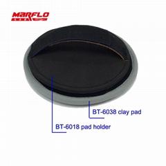 Microfiber Magic Clay Pad Bar Car Repair Remover Paint Shine Care Polishing