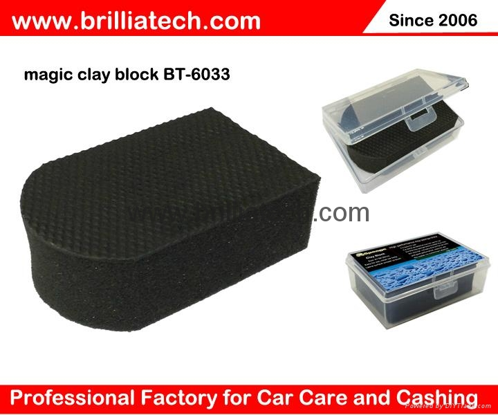 Magic Clay Bar Block